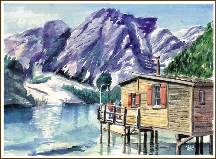 Lake Braies in South Tyrol