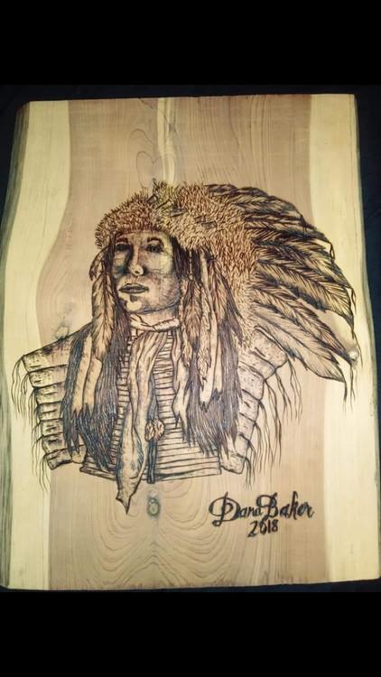 Not stencil Native Chief