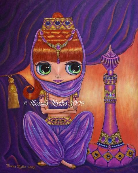 Purple Genie