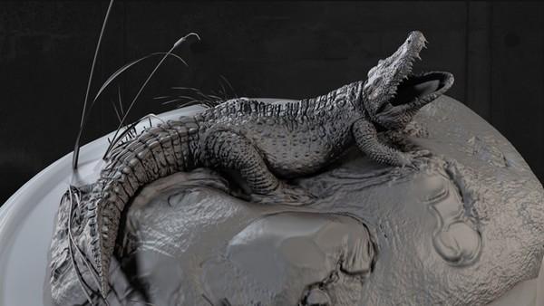 Saltwater Crocodile(3D)