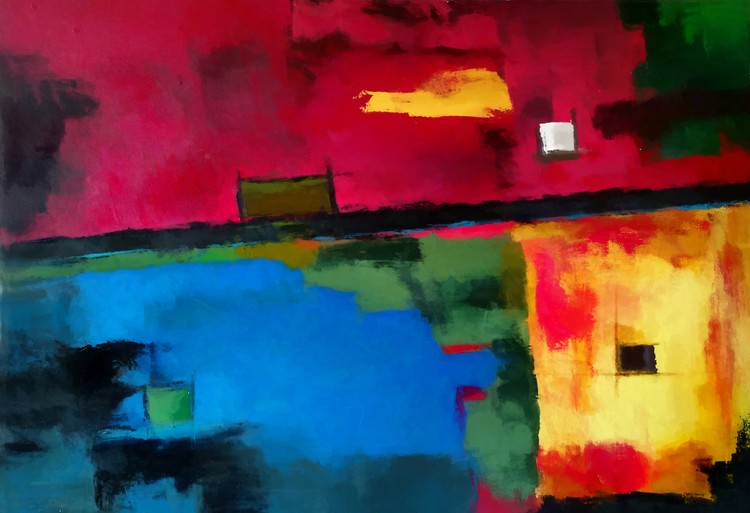 Abstract composition 88