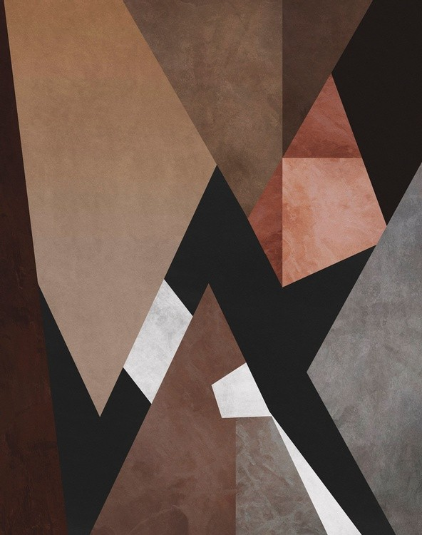 Geometric Pattern with Triangles