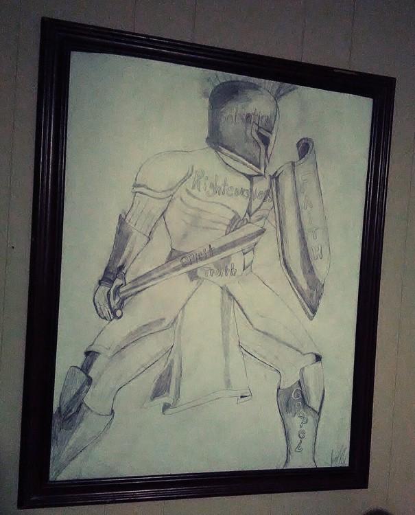God's Armor Soldier