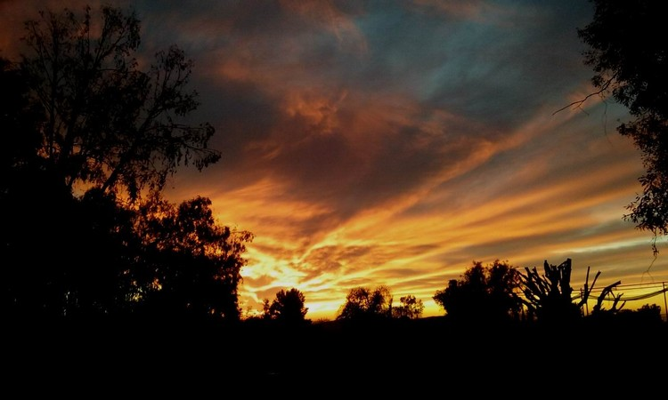 Post Christmas Eve Sunset