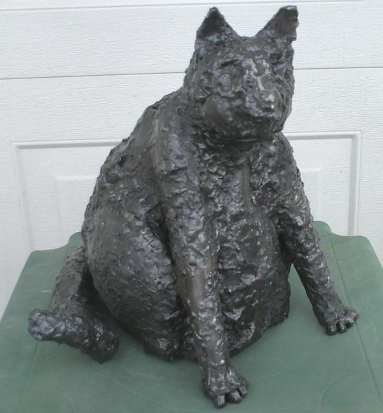 Sitting Cat, 2009