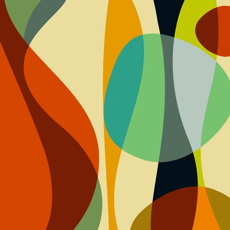 Abstract Composition 748