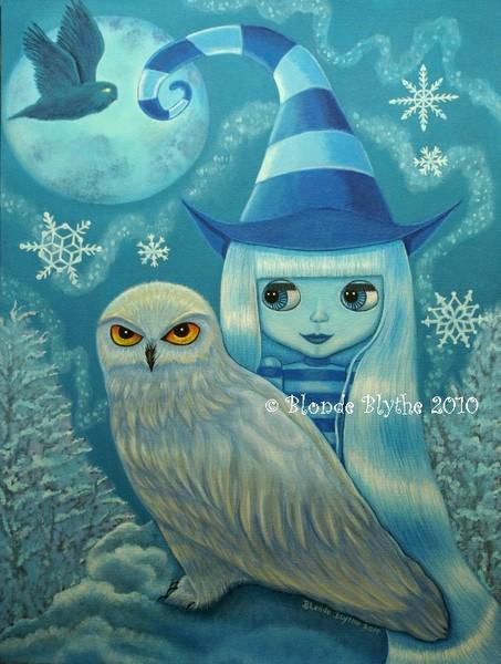 Snowy Owl Witch