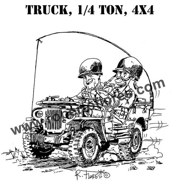 radio ww2 jeep by roberto flores