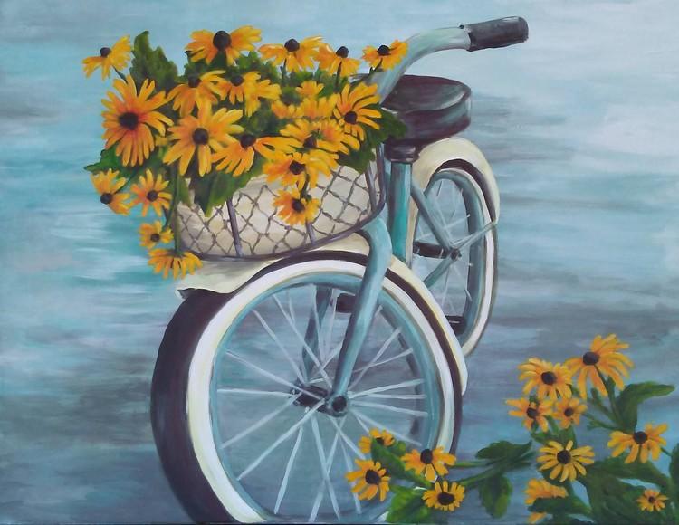 Black Eyed Susan's Bike