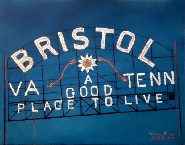 Bristol Sign VA TENN