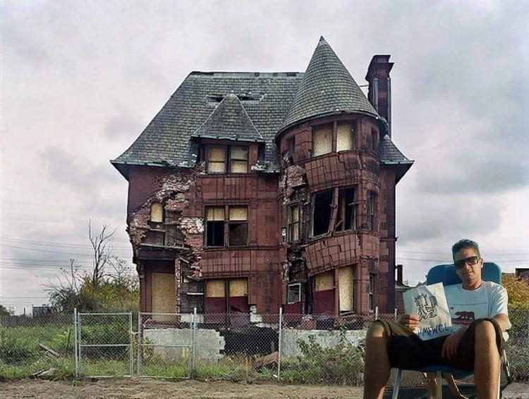 Detroit wicked clown house
