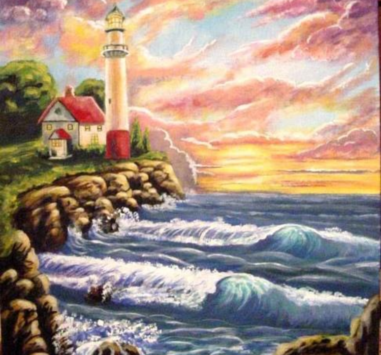 LIGHTHOUSE PRINT SIZE