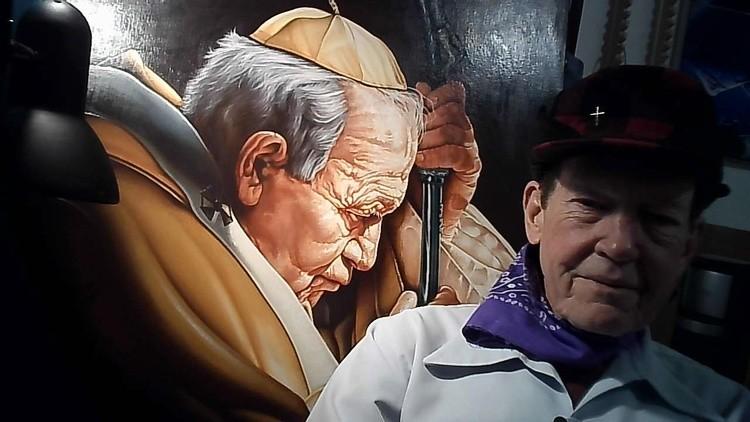 Me and Pope John Paul II