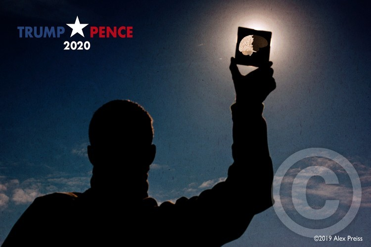 Trump + Pence 2020. Total Eclipse Of The Mind.