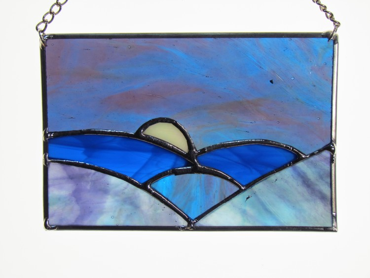 Stained Glass Sun catcher 6