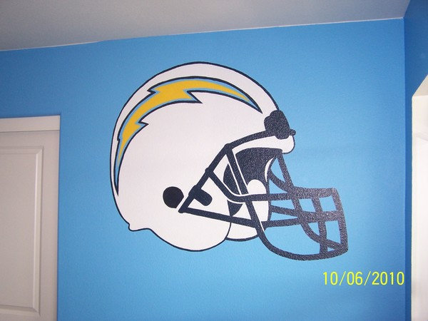 San Diego Chargers room