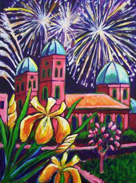 Natchitoches Christmas Festival.Natchitoches Christmas Festival Poster 2 By David Holcombe
