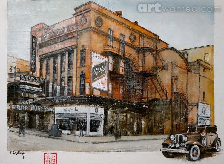 New York 1930-Gayety Theatre
