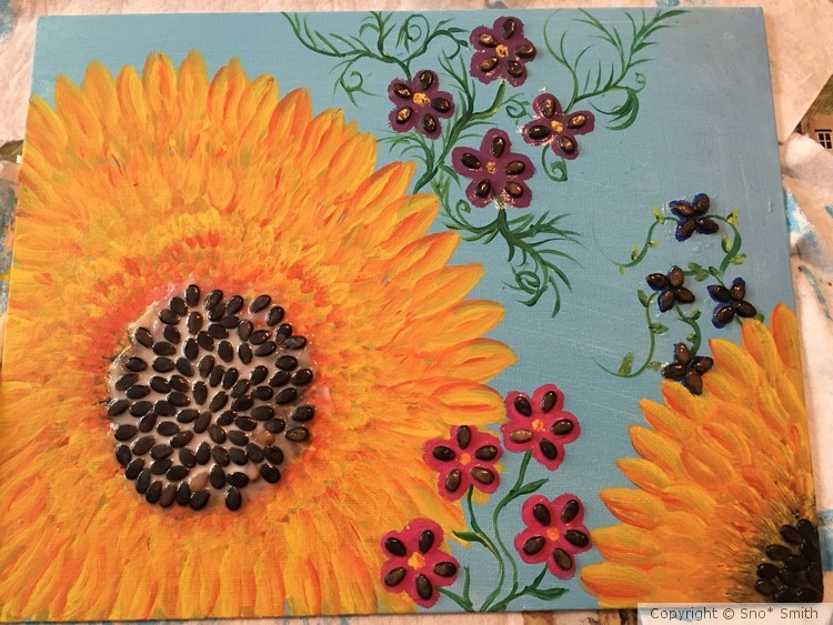 Sunflowers and flowers part two
