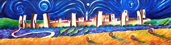 The castle of Monteriggioni