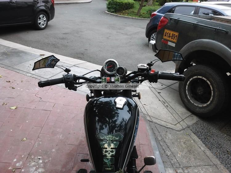 Custom street bike