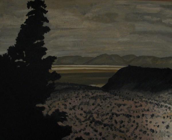 3rd Oil - Desert Sky - 16x20