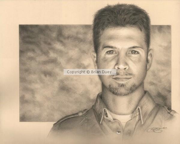 Self Portrait Drawing