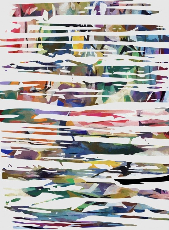Irregular and Colored Strokes
