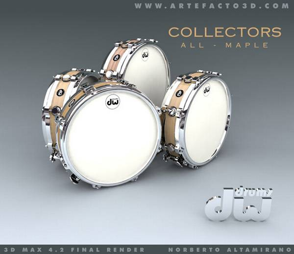 dw SNARES COLLECTOR EDITION