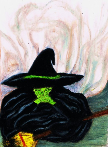 Melting Wicked Witch Of The West By Jo Ann Hayden Artwantedcom