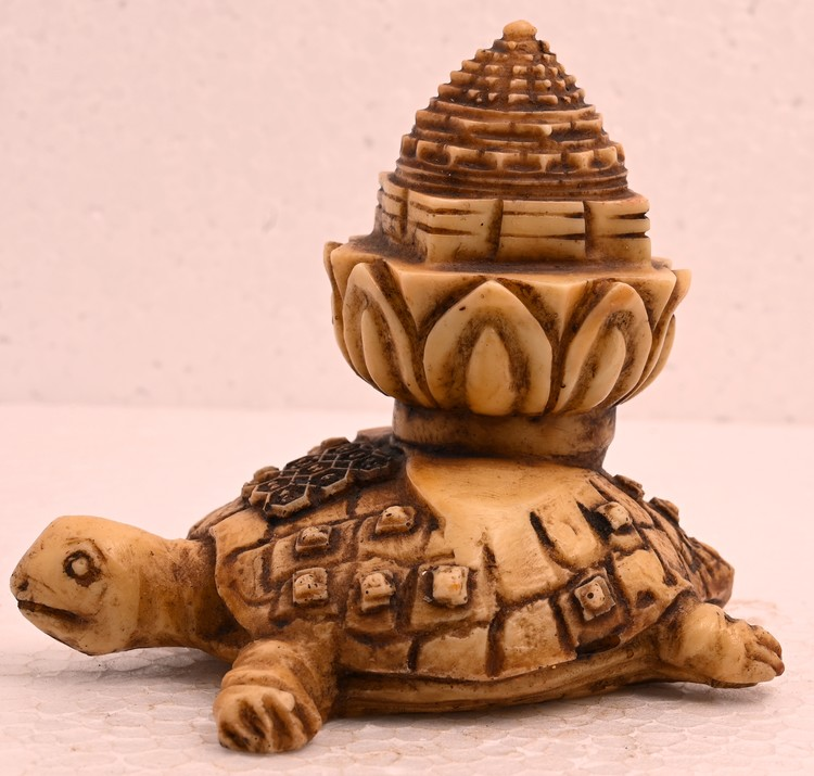 Antique Handmade Sculpture Tortoise