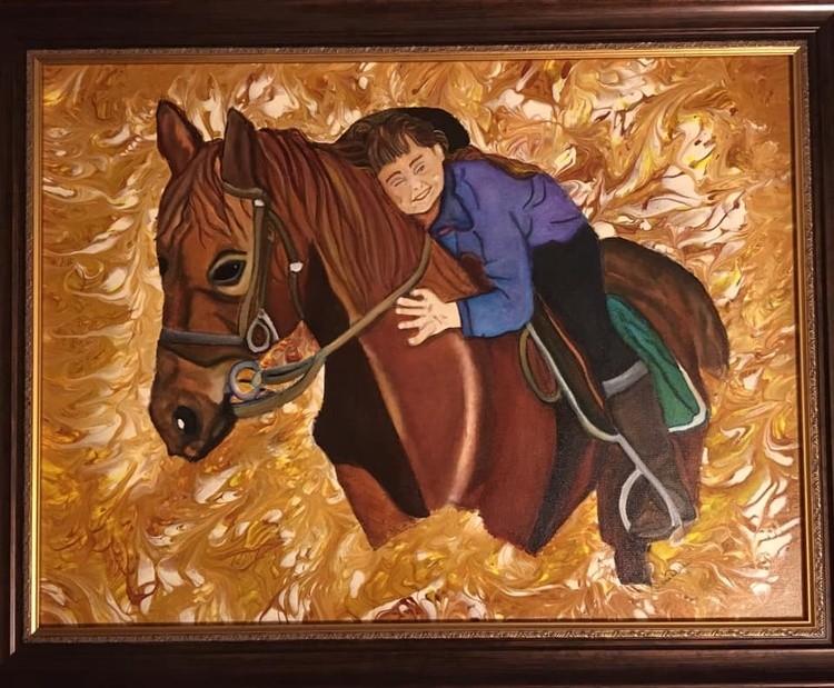 Diane Autumn riding