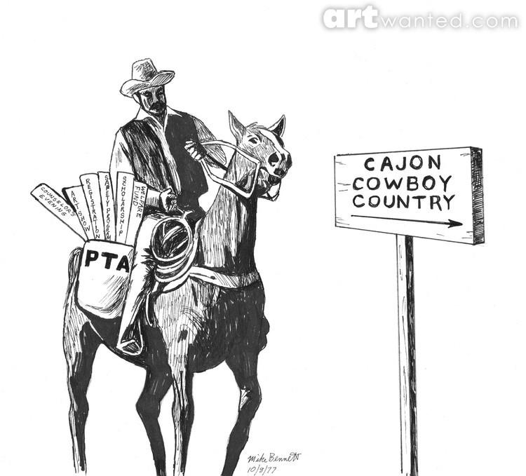 Cajon Cowboys - PTA Brochure