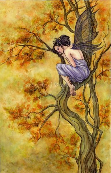 Autumn Fairy By Brooke Gillette Artwanted Com