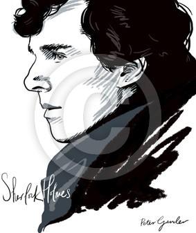 Benedict Cumberbatch digital portrait