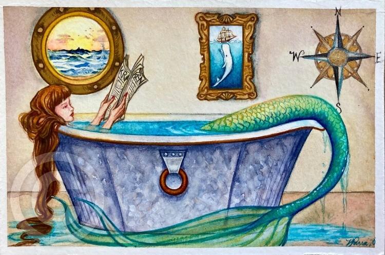 Mermaid Bathtub Tales