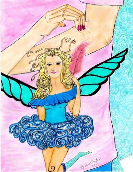 Izabella The Itch fairy