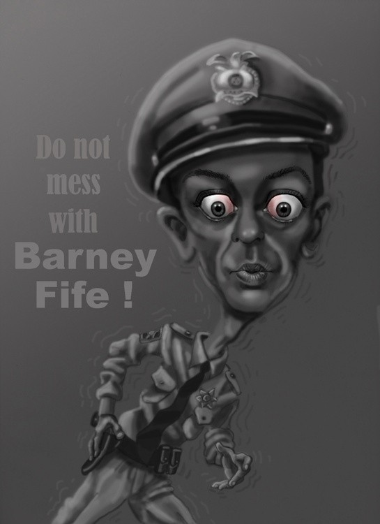 Don't mess with Barney Fife