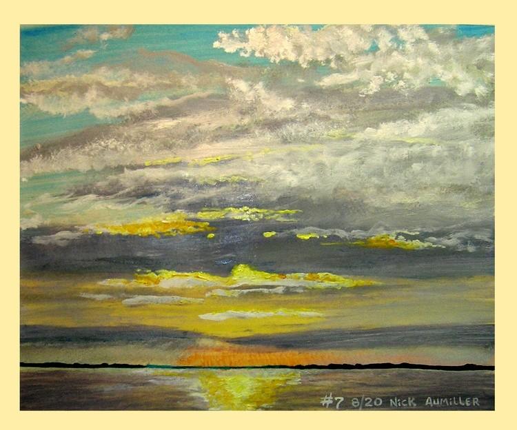 Barrison Point, Chesapeake Bay, - Late Sunrise #7