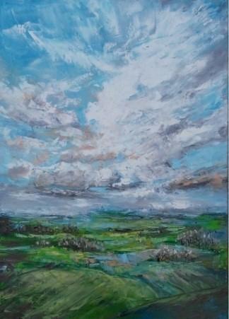 original skyscape painting