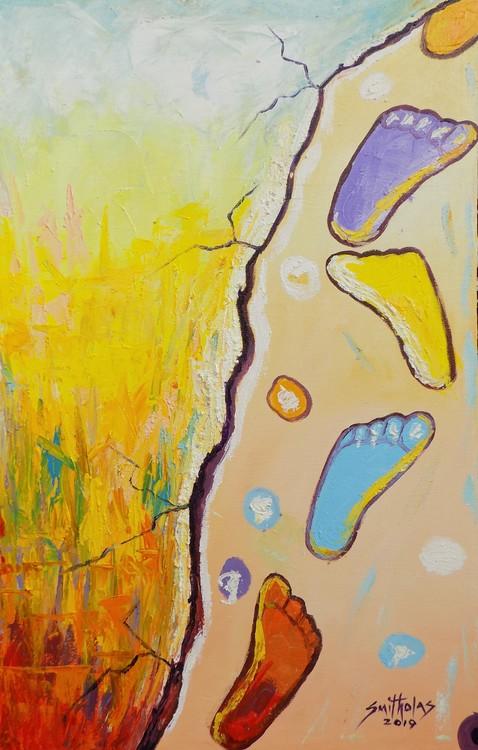 FootPrint Sand of Jesus