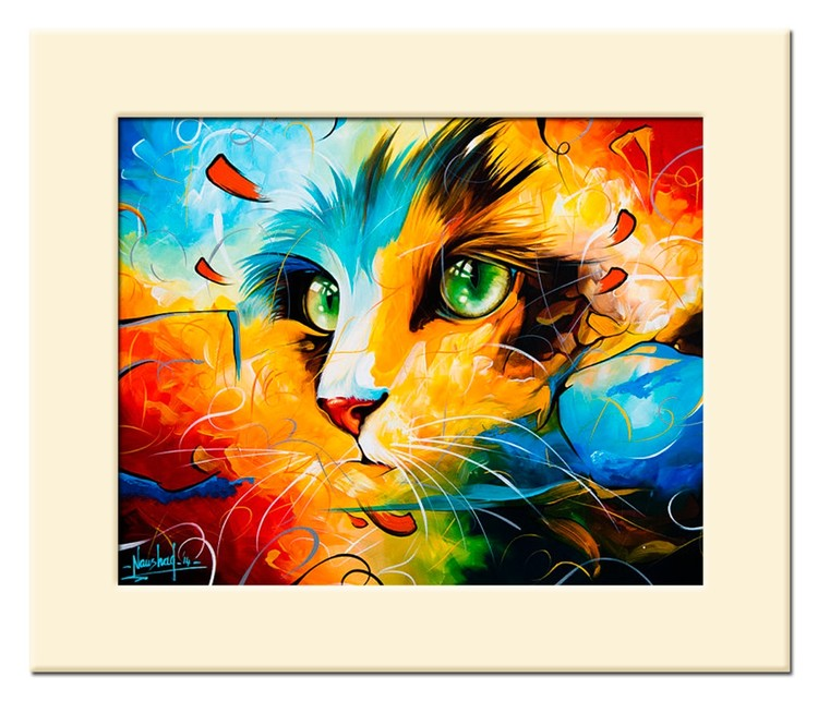 Cat Masters 22 - Size 10X8in