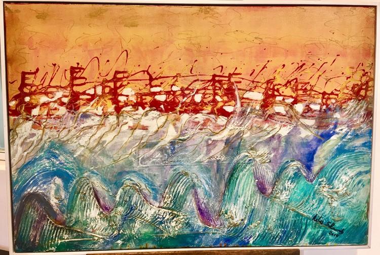 Red Tide by Rita Schwab | ArtWanted com
