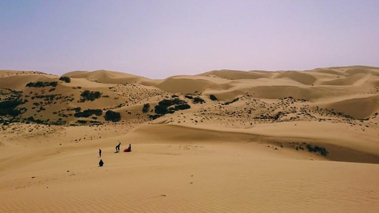 Desert in Qinghai