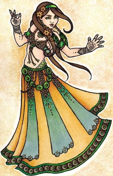 Sona Belly Dancer