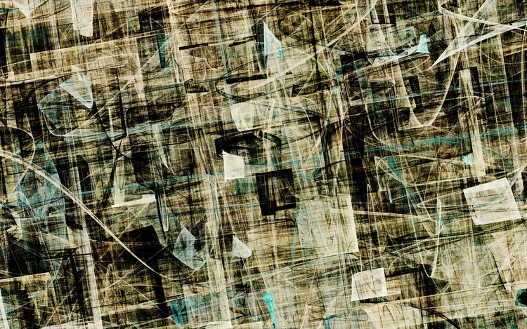 Abstract Composition 312
