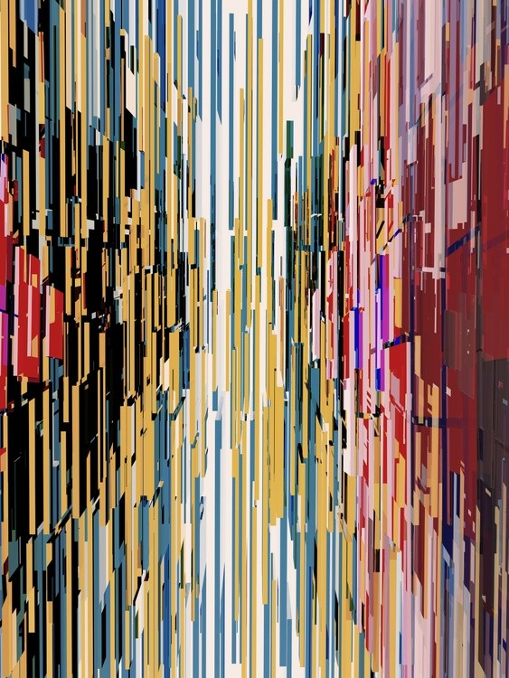 Abstract Composition 735