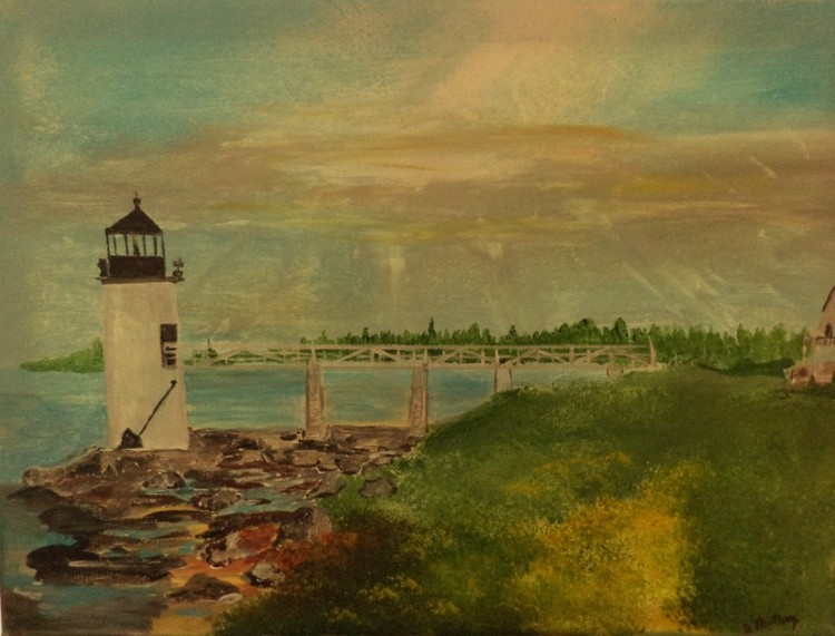 Marshall Point L.H. Me Painting # 273