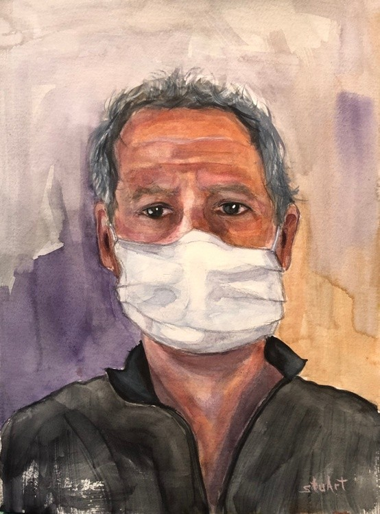 Self Portrait During Pandemic