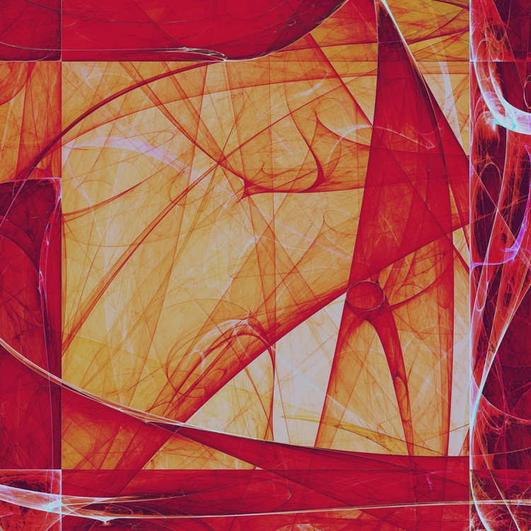 Abstract Composition 118
